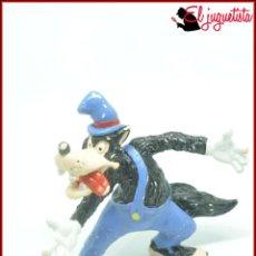 Figuras de Goma y PVC: EL LOBO Y LOS TRES CERDITOS - DISNEY BULLY BULLYLAND - LOBO. Lote 120387027