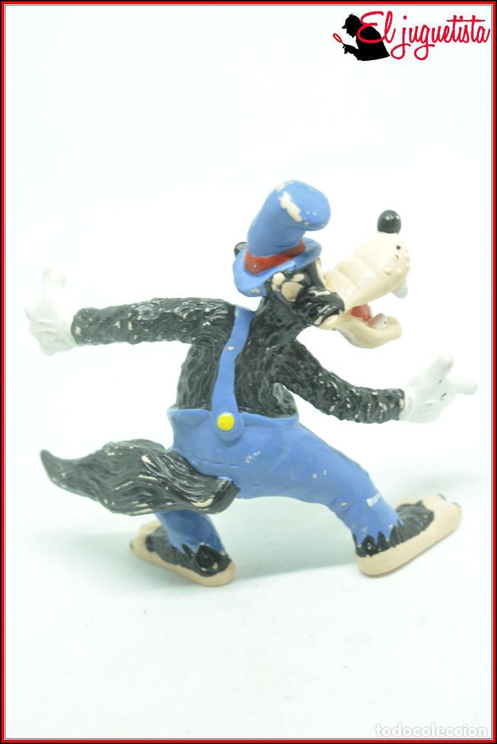 Figuras de Goma y PVC: EL LOBO Y LOS TRES CERDITOS - DISNEY BULLY BULLYLAND - LOBO - Foto 2 - 120387027