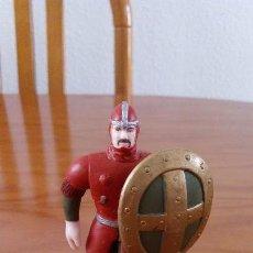 Figuras de Goma y PVC: FIGURA PVC CABALLERO SOLDADO GUERRERO. MARCA ELC.. Lote 120396423