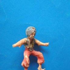 Figuras de Goma y PVC: FIGURA ESTEREOPLAST SERIE COSACO VERDE. Lote 120419455