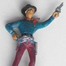 Figuras de Goma y PVC: VAQUERO DEL OESTE AMERICANO DE COMANSI. Lote 120445475