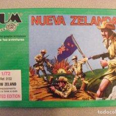 Figuras de Goma y PVC: BUM - MONTAPLEX - 1/72 - TROPAS DE NUEVA ZELANDA - ANZAC. Lote 120534095