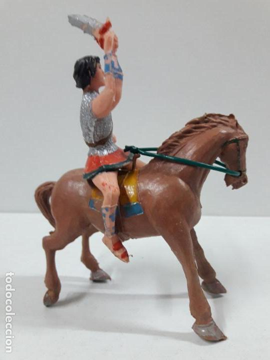 Figuras de Goma y PVC: EL JABATO A CABALLO . REALIZADO POR ESTEREOPLAST . AÑOS 60 - Foto 2 - 120561715
