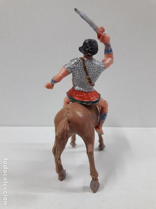Figuras de Goma y PVC: EL JABATO A CABALLO . REALIZADO POR ESTEREOPLAST . AÑOS 60 - Foto 4 - 120561715