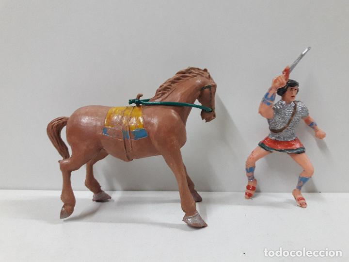 Figuras de Goma y PVC: EL JABATO A CABALLO . REALIZADO POR ESTEREOPLAST . AÑOS 60 - Foto 5 - 120561715