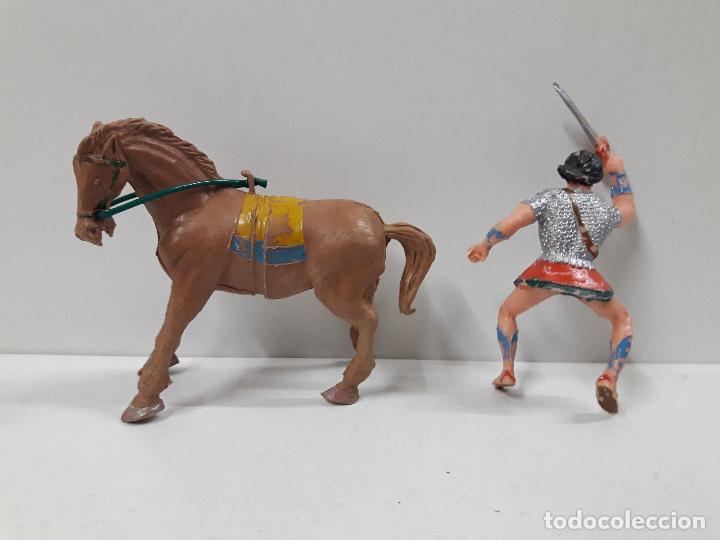 Figuras de Goma y PVC: EL JABATO A CABALLO . REALIZADO POR ESTEREOPLAST . AÑOS 60 - Foto 6 - 120561715
