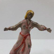 Figuras de Goma y PVC: SIGRID . REALIZADO POR JIN . AÑOS 50 EN GOMA. Lote 120564015