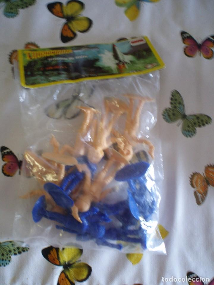 THUNDERBIRDS FIGURAS BOLSA SIN ABRIR GUARDIANES DEL ESPACIO COMANSI PTOY (Juguetes - Figuras de Goma y Pvc - Comansi y Novolinea)