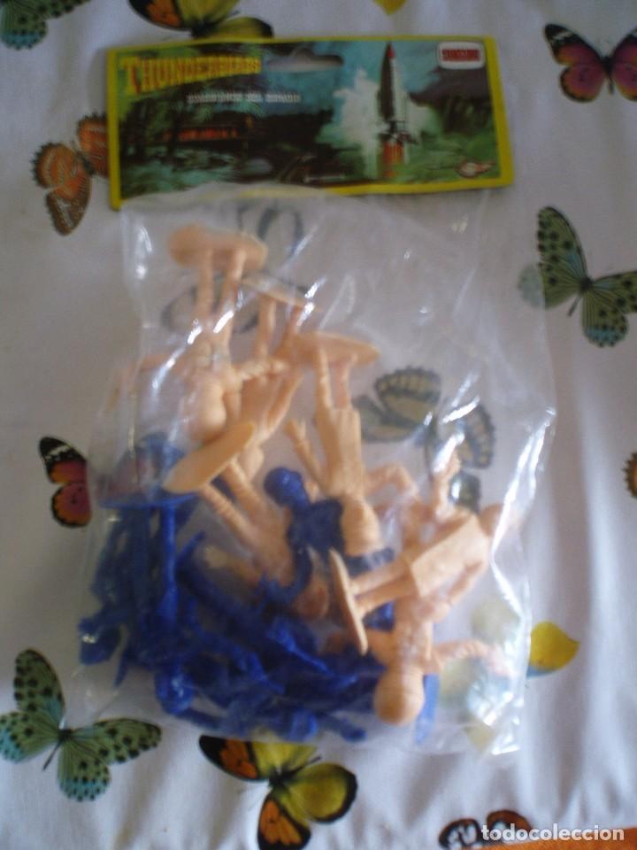 Figuras de Goma y PVC: THUNDERBIRDS FIGURAS BOLSA SIN ABRIR GUARDIANES DEL ESPACIO COMANSI PTOY - Foto 2 - 120797275