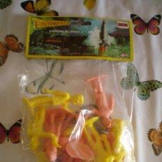 Figuras de Goma y PVC: THUNDERBIRDS FIGURAS BOLSA SIN ABRIR GUARDIANES DEL ESPACIO COMANSI PTOY. Lote 120797471