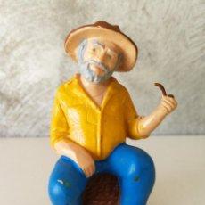 Figuras de Goma y PVC: MUY RARA Y DIFÍCIL FIGURA PVC CHANQUETE VERANO AZUL. Lote 120807767