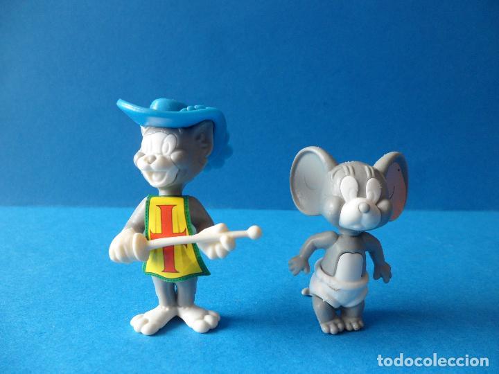 FIGURAS MONTABLES DE TOM Y JERRY - TURNER - HANNA BARBERA - TOM MOSQUETERO (Juguetes - Figuras de Gomas y Pvc - Kinder)