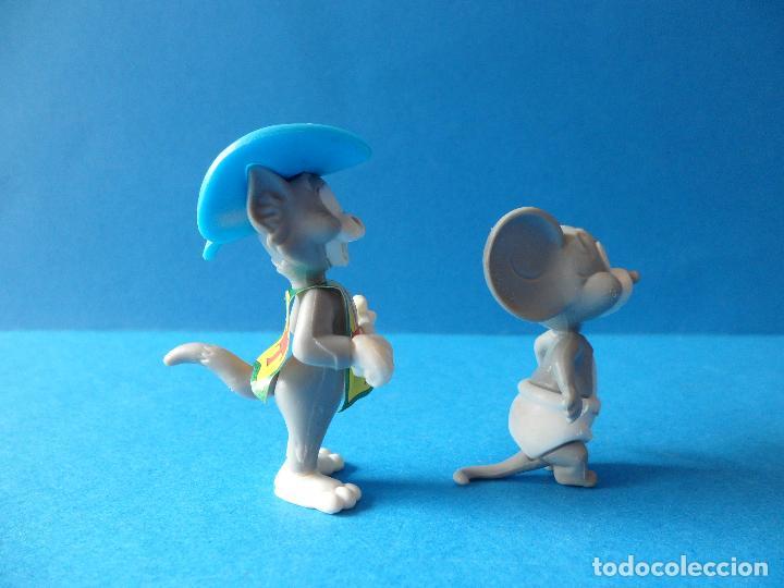 Figuras Kinder: Figuras montables de Tom y Jerry - TURNER - Hanna Barbera - Tom Mosquetero - Foto 4 - 120851199