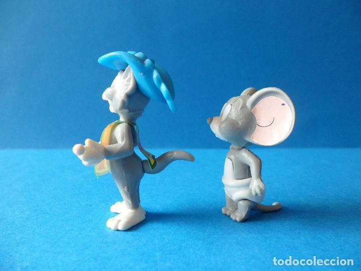 Figuras Kinder: Figuras montables de Tom y Jerry - TURNER - Hanna Barbera - Tom Mosquetero - Foto 6 - 120851199