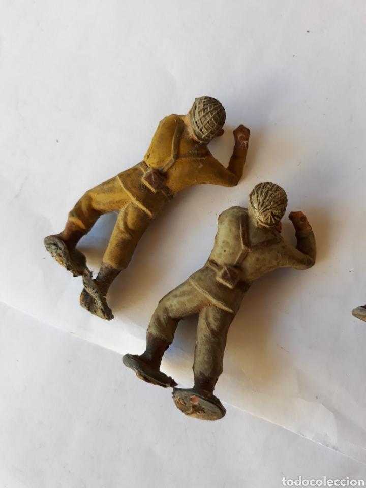 Figuras de Goma y PVC: COBA COLOM Y BASTE SOLDADOS CREO AMERICANOS - Foto 3 - 120891150