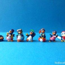 Figuras Kinder: VARIADO LOTE DE PINGUINOS KINDER SORPRESA - FERRERO 1994. Lote 120909483