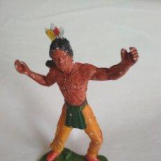 Figuras de Goma y PVC: FIGURA INDIO GRANDE LAFREDO. Lote 121031707