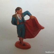 Figuras de Goma y PVC: FIGURA TORERO JECSAN. Lote 121032895