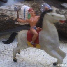 Figuras de Goma y PVC: INDIO DE LOS SIUX DE LAFREDO. Lote 121048455