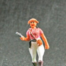 Figuras de Goma y PVC: CAZADORA DEL SAFARI NEGROS. Lote 121069355