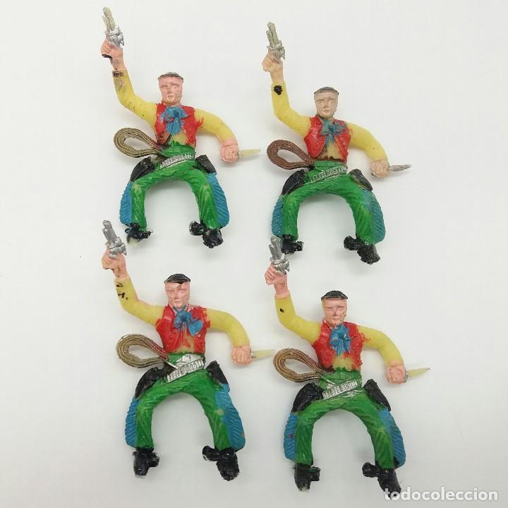LOTE DE VAQUEROS SOTORRES (Juguetes - Figuras de Goma y Pvc - Sotorres)