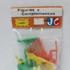 Figuras de Goma y PVC: BOLSA DE PRIMITIVOS - REF 515 . REALIZADA POR JECSAN . AÑOS 60. Lote 121153347
