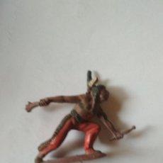 Figuras de Goma y PVC: FIGURA INDIO PECH GOMA. Lote 121165007