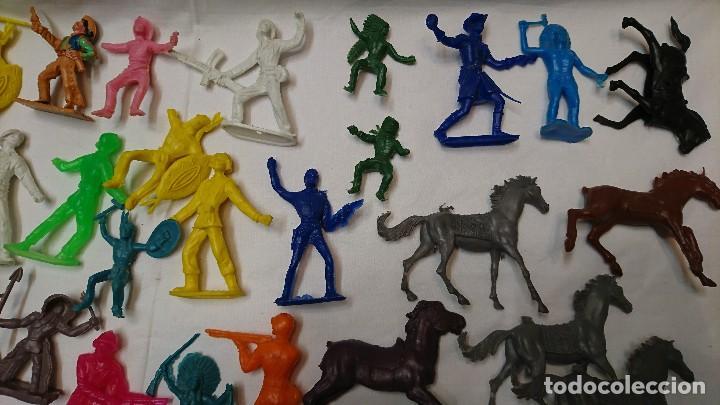 Figuras de Goma y PVC: LOTE DE ANTIGUAS FIGURAS COMANSI - Foto 3 - 121290111
