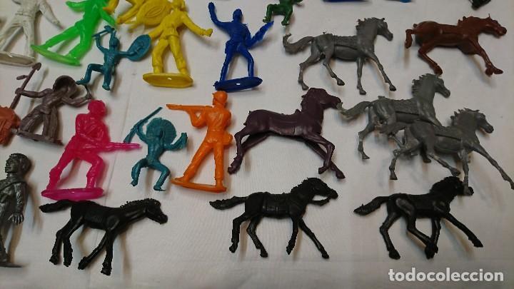 Figuras de Goma y PVC: LOTE DE ANTIGUAS FIGURAS COMANSI - Foto 4 - 121290111