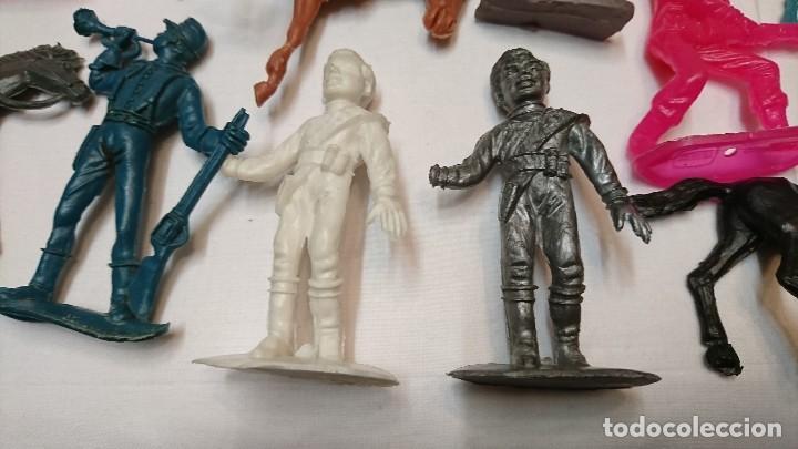 Figuras de Goma y PVC: LOTE DE ANTIGUAS FIGURAS COMANSI - Foto 7 - 121290111
