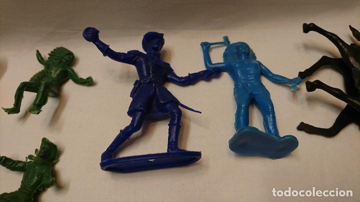 Figuras de Goma y PVC: LOTE DE ANTIGUAS FIGURAS COMANSI - Foto 9 - 121290111