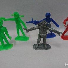 Figuras de Goma y PVC: LOTE ANTIGUAS FIGURAS COMANSI SERIE ESPACIO, OVNI . Lote 121290587