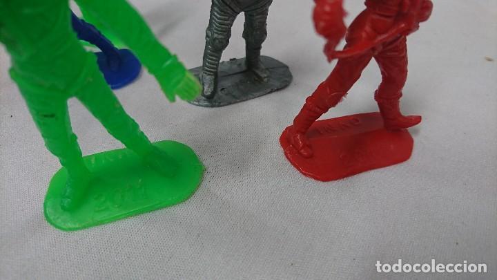 Figuras de Goma y PVC: LOTE ANTIGUAS FIGURAS COMANSI SERIE ESPACIO, OVNI - Foto 6 - 121290587