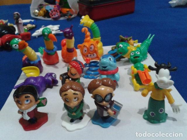 LOTE KINDER 15 FIGURAS (Juguetes - Figuras de Gomas y Pvc - Kinder)