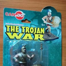 Figuras de Goma y PVC: AJAX-CAN.DO-TROJAN WAR(SERIES 2)1:24 HISTORICAL FIGURE-NUEVO EN BLISTER-RARO!!!. Lote 121417987