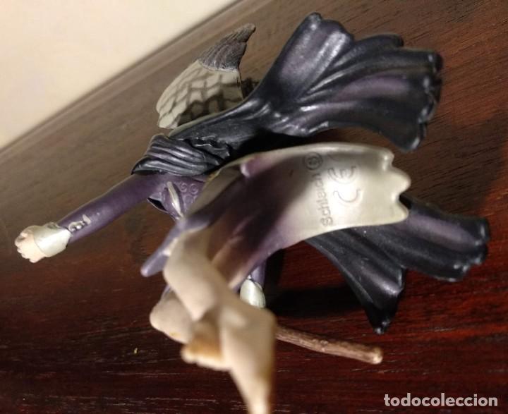 Figuras de Goma y PVC: ELFO Y BRUJA - DOS FIGURAS DE FANTASÍA -SCHLEICH - VER FOTOS - Foto 9 - 121458131