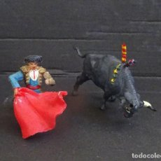 Figuras de Goma y PVC: TEIXIDO TOROS. Lote 121547591