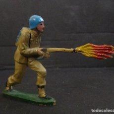 Figuras de Goma y PVC: TEIXIDO SOLDADO ESPAÑOL. Lote 121547775