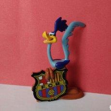 Figurines en Caoutchouc et PVC: FIGURA PVC COLECCION WARNER BROSS FUTBOL FC BARCELONA BARÇA. Lote 121566115
