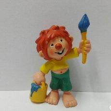 Figuras de Goma y PVC: PUMUKI BULLY BULLYLAND PUMUKY PUMUCKI PUMUCKY PINTOR PINCEL BROCHA FIGURA PVC DIBUJOS. Lote 121787496