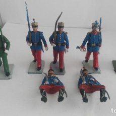 Figuras de Goma y PVC: LOTE DE FIGURAS REAMSA DESFILE GUARDIA REAL Y MAS . Lote 121888099