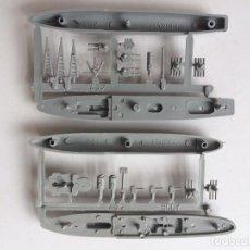 Figuras de Goma y PVC: LOTE MONTAPLEX - 2 COLADAS DE BARCOS PARA MONTAR - HARDING Y COLTER. Lote 171684415