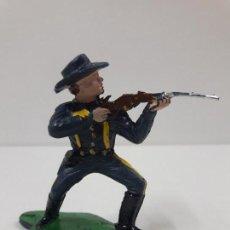 Figuras de Goma y PVC: SOLDADO FEDERAL - 7º DE CABALLERIA . FIGURA REAMSA . BATALLA LITTLE BIG HORN. Lote 122005943