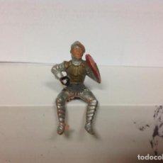 Figuras de Goma y PVC: FIGURA MEDIEVAL REAMSA - CORTE FEUDAL DE REAMSA REY ARTURO RICARDO CORAZON DE LEON. Lote 122047103