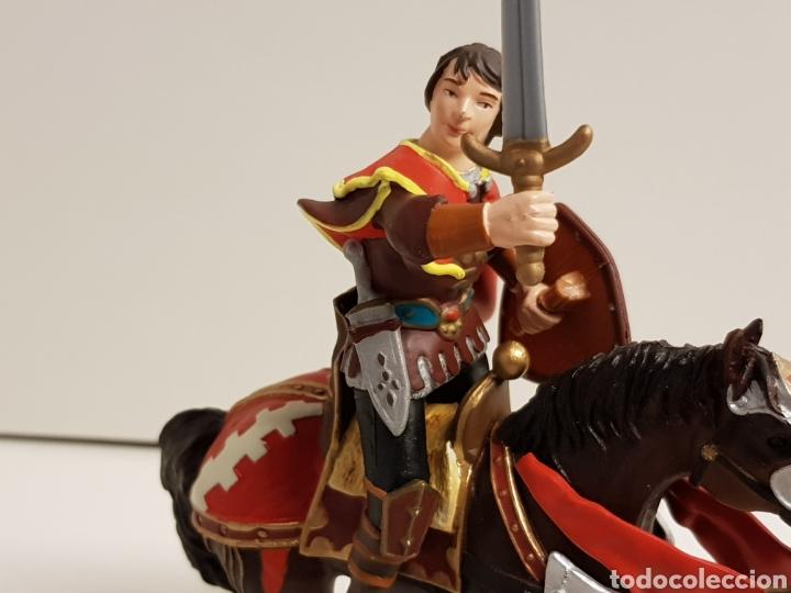 Figuras de Goma y PVC: Príncipe medieval en goma plástica marca papo - Foto 2 - 122098378