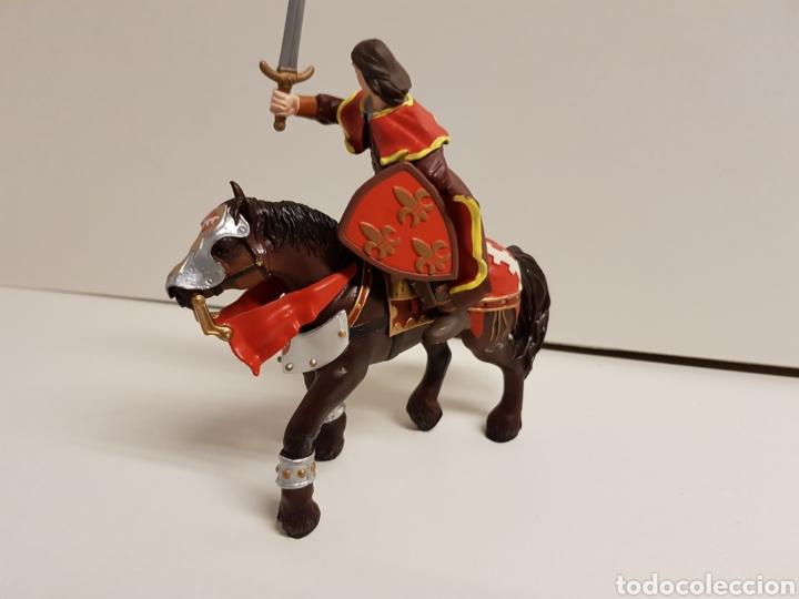 Figuras de Goma y PVC: Príncipe medieval en goma plástica marca papo - Foto 3 - 122098378