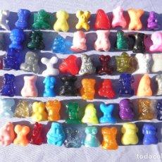 Figuras de Goma y PVC: LOTE DE 58 GOGOS DE MAGIC BOX, AÑOS 90. Lote 122301399