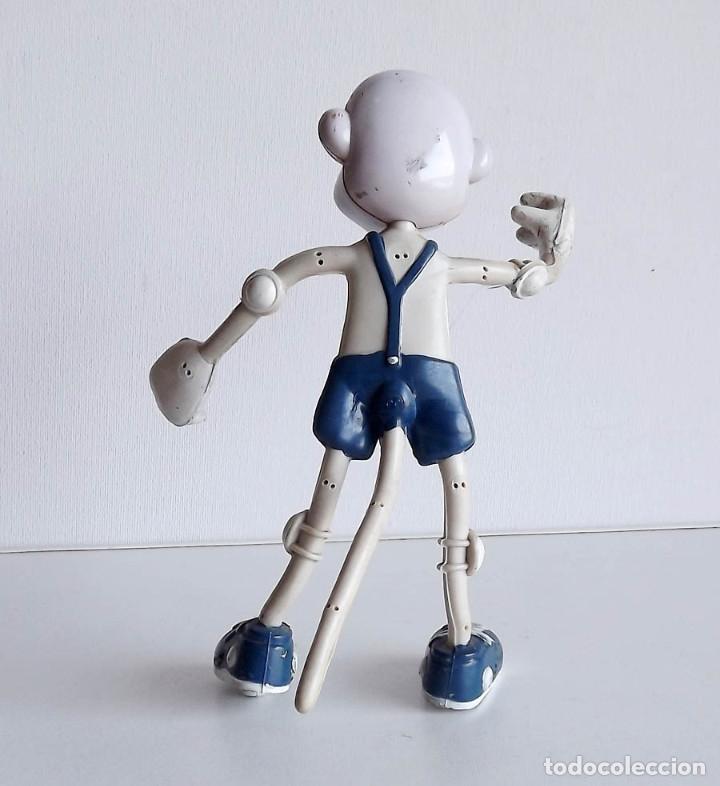 Figuras de Goma y PVC: Mono de alambre y goma, años 60-70, 17 cm - Foto 2 - 76817207