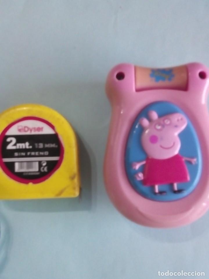TELEFONO PVC PEPPA PI UK LIMITED 2001 EMITE SONIDOS (Juguetes - Figuras de Goma y Pvc - Otras)