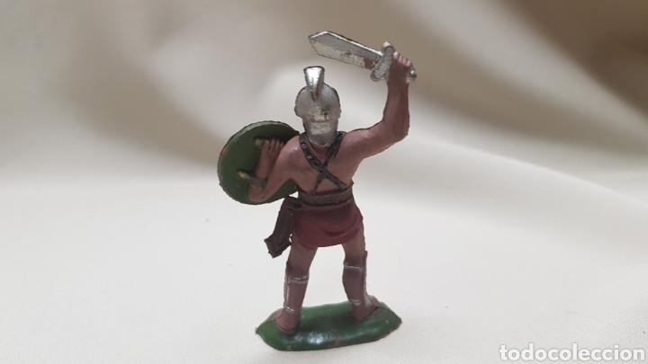 Figuras de Goma y PVC: Figura soldado romano reamsa n 162 - Foto 3 - 122531954